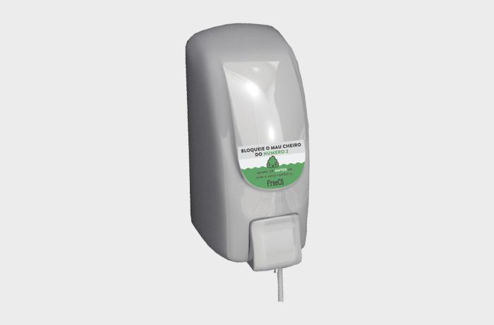 Bloqueador de odores sanitários FreeCô Professional