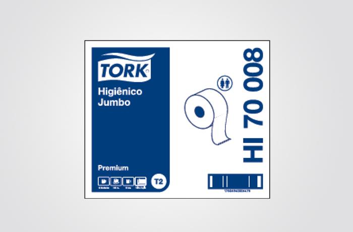 TORK PREMIUM HIGIÊNICO JUMBO 12/160M FD