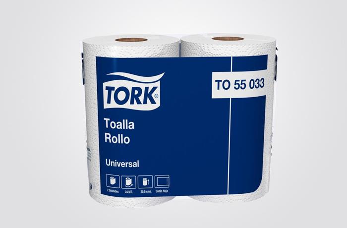 TORK UNIVERSAL PAPEL TOALHA COZINHA 2/24M FD