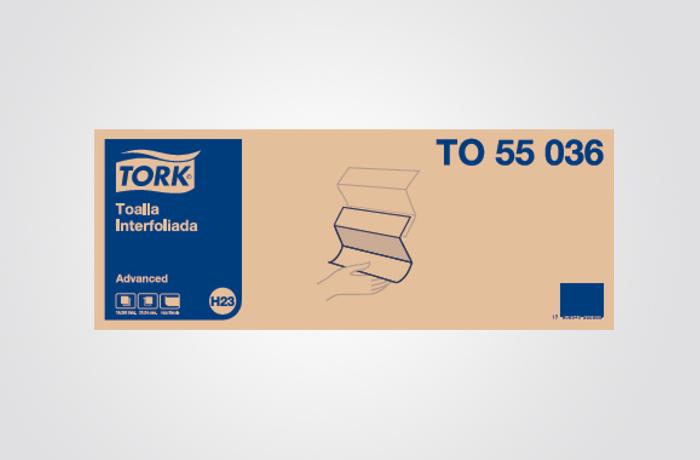 TORK ADVANCED TOALHA INTERFORLIADA 16/250 FS