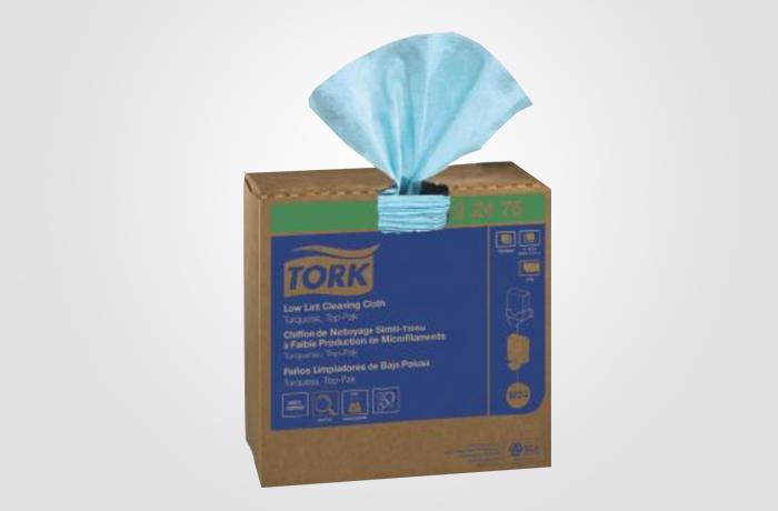 TORK WIPER LOW-LINT POP UP 8/100 FS