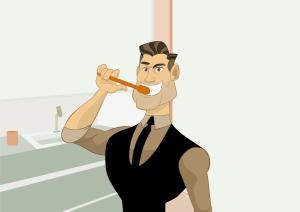 Especialista explica que a escovação acompanhada do uso do fio dental é indispensável para uma higienização bucal satisfatória.