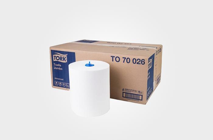 Tork Universal Toalha Rolo 6/150M Folha Simples