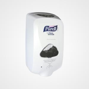 Álcool Purell elimina 99,9% dos vírus e bactérias.